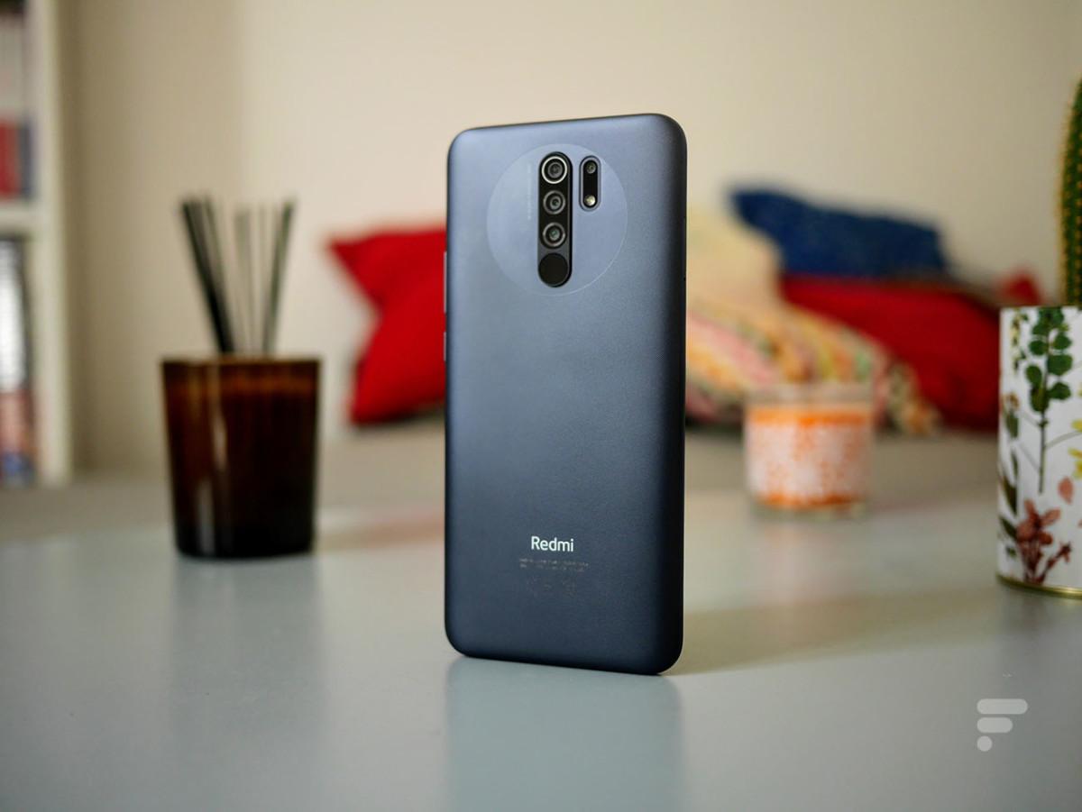 Le dos du Xiaomi Redmi 9