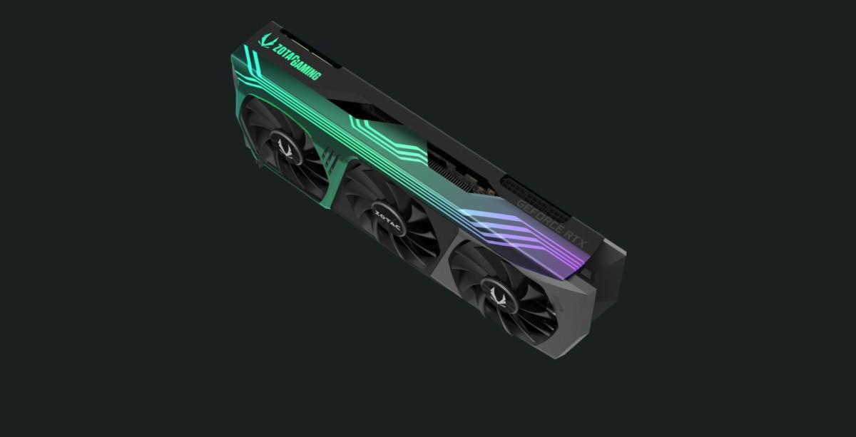 La RTX 3090 Trinity de Zotac