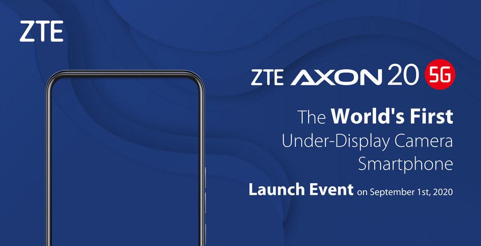 ZTE Axon 20 5G avec caméra dans l'écran