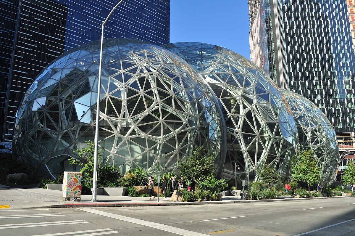 Amazon - Maison mère à Seattle