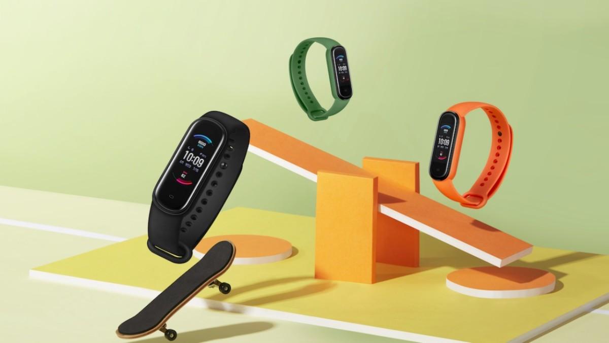 Le bracelet Amazfit Band 5 avec Alexa et la mesure de l'oxygène dans le sang