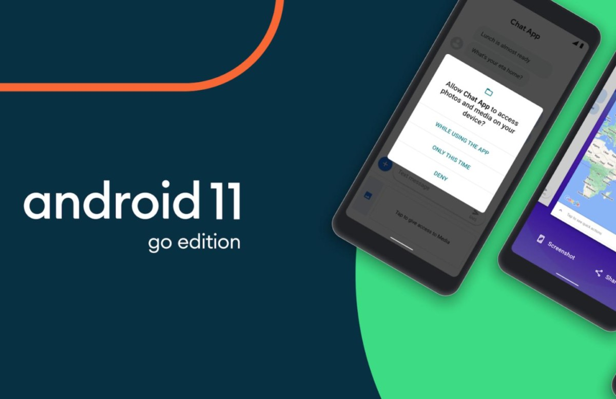 android 11 go 1200x777 - the new features of Android 11 benefit the entry level