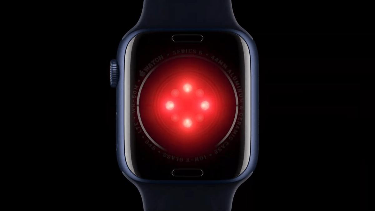 Nouveaux capteurs Apple Watch Series 6