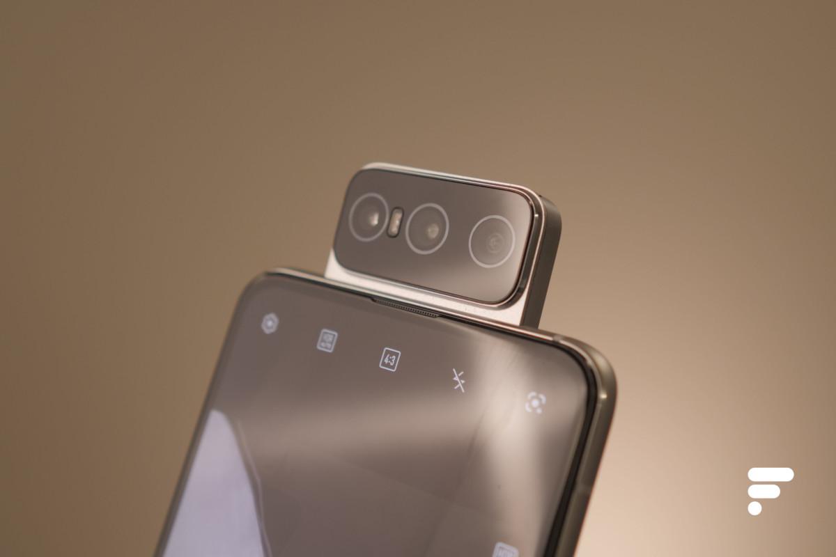 Selfie avec Asus Zenfone 7 Pro
