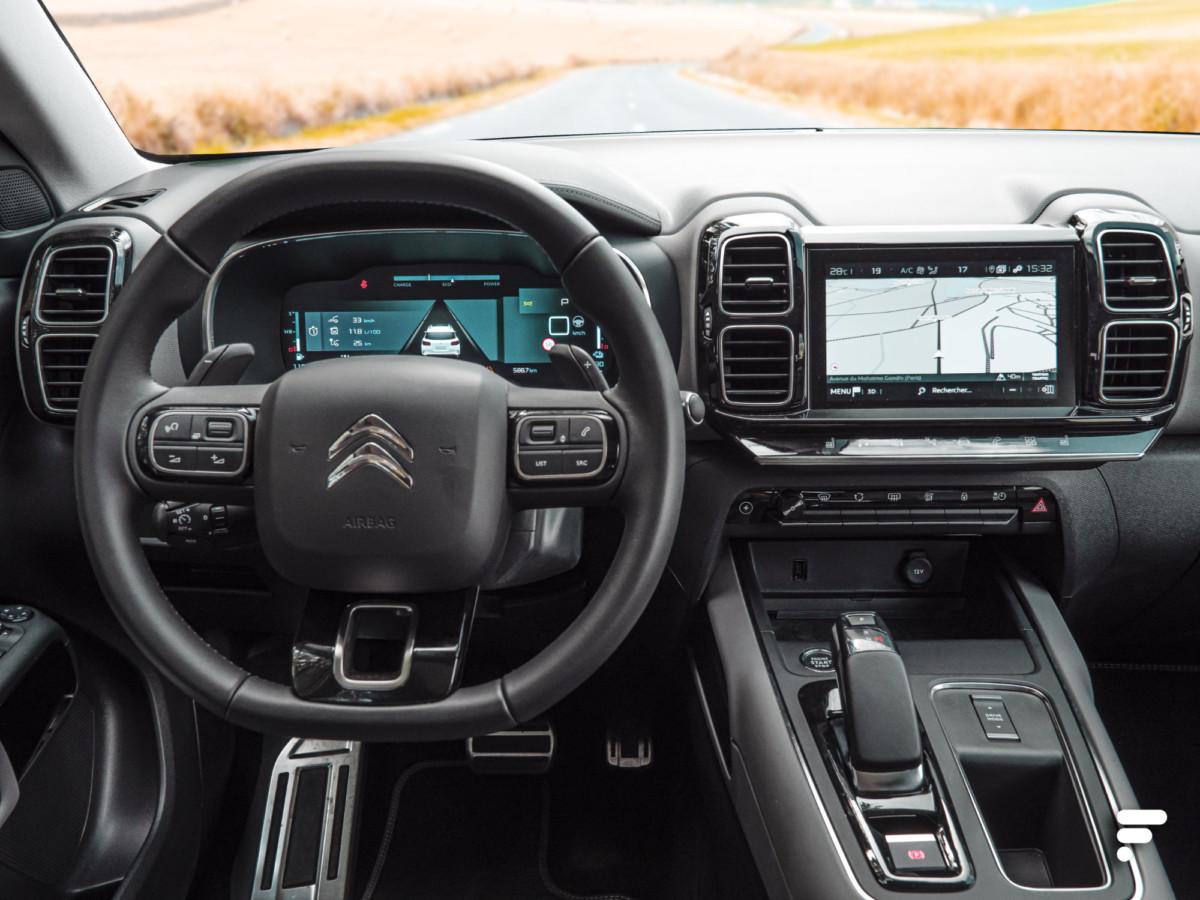 SUV Citroën C5 Aircross Hybrid: une voiture plus connectée que jamais