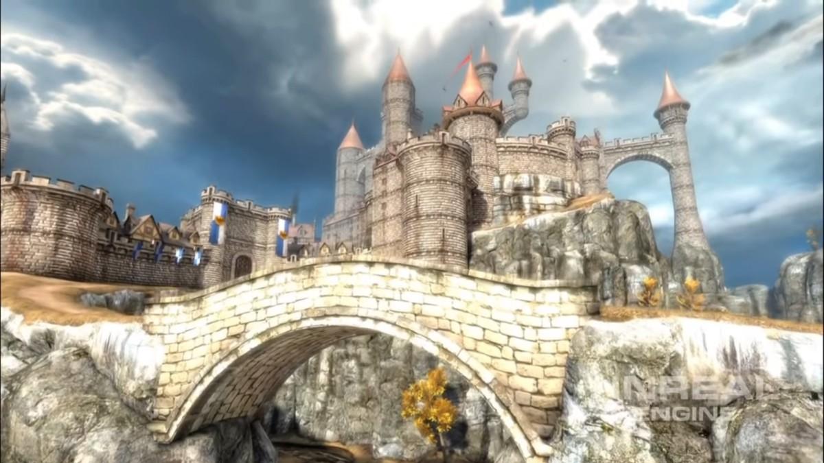 Démo d'Epic Citadel