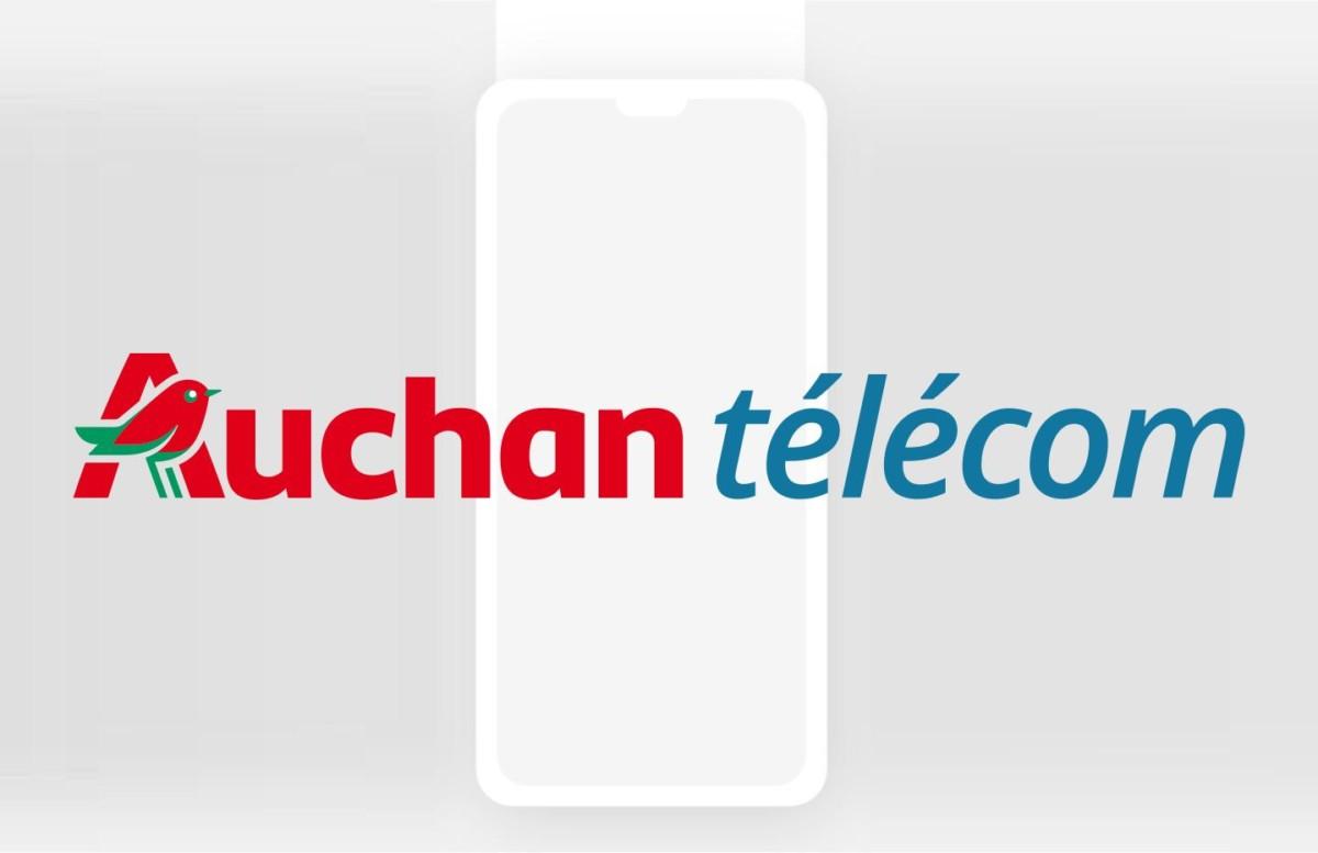 Une illustration pour les forfaits mobile de chez Auchan télécom