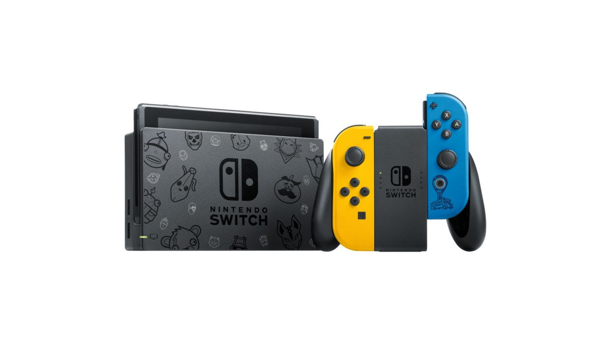 Nintendo a annoncé en Europe l'arrivée prochaine d'une Switch aux couleurs de Fortnite