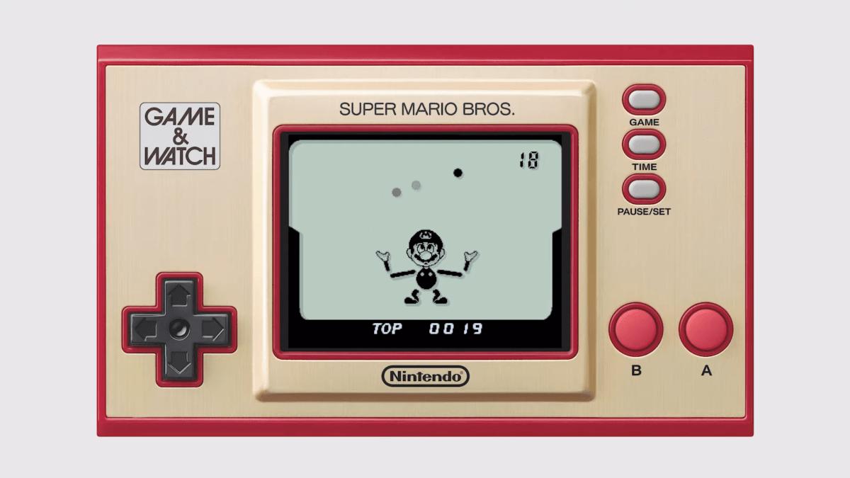 Le jeu Ball (Version Mario) sur Game & Watch