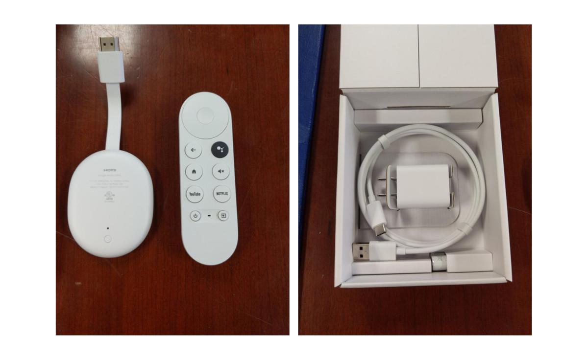 Google Chromecast unboxing