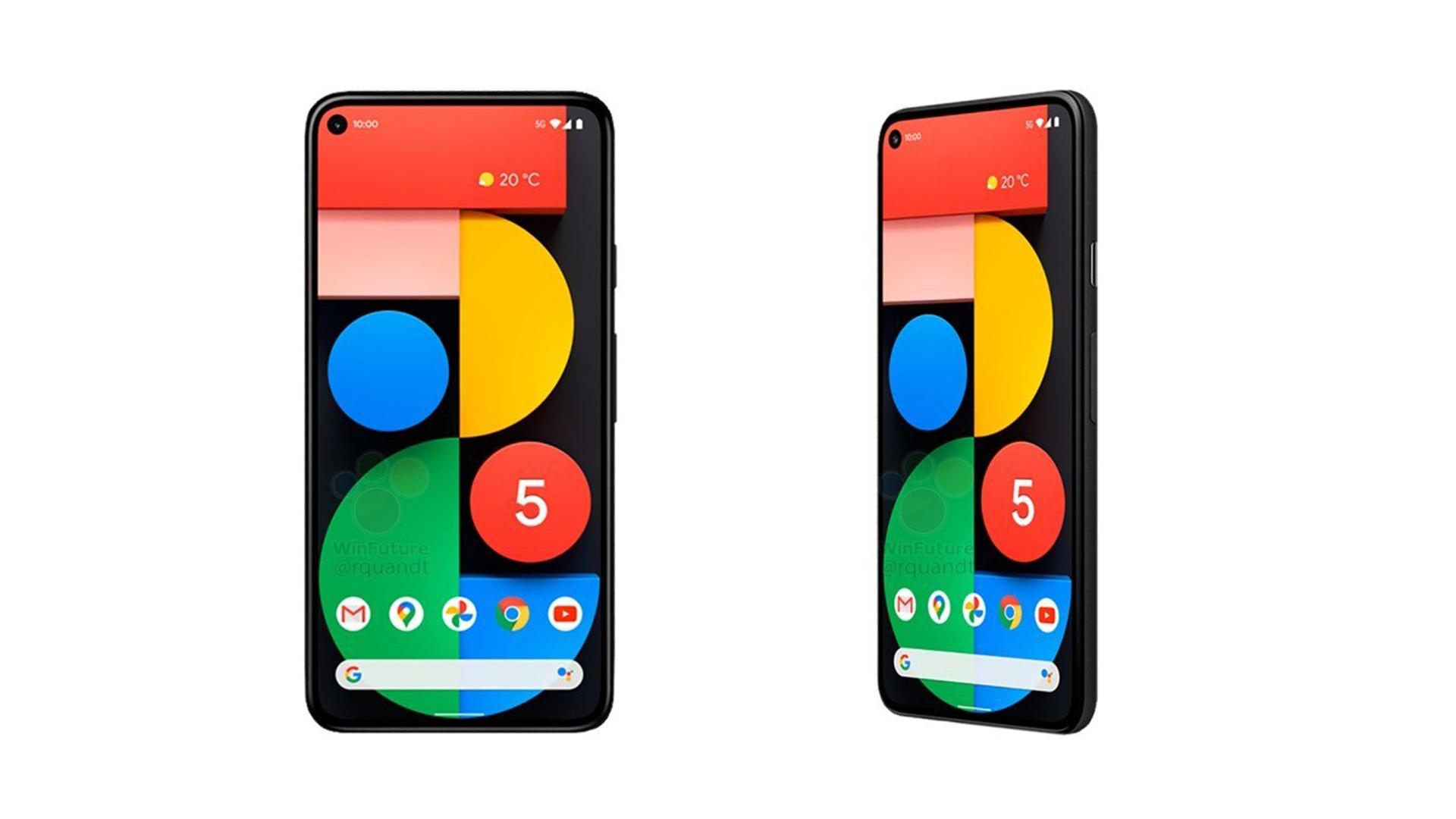 Google Pixel 5 : deux couleurs et un prix débutant à 629 euros ?