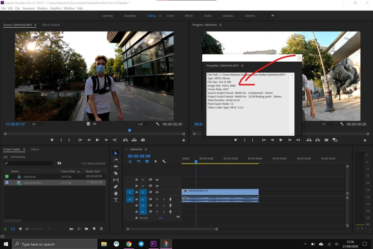 Une vidéo5K permet d'extraire des photos de 14,7mégapixels
