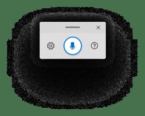 Icône dictée vocale depuis clavier physique Windows 10