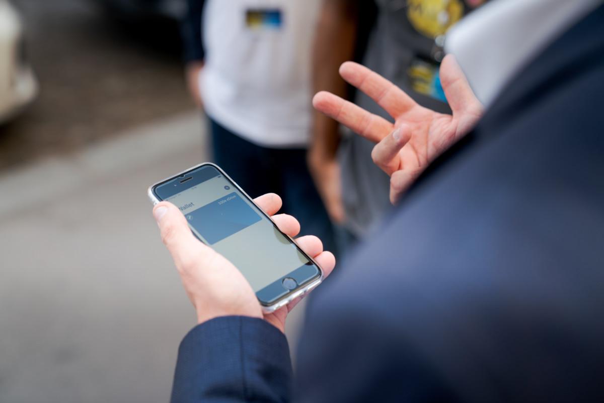 La clé numérique vient se stocker au sein de votre Apple Wallet