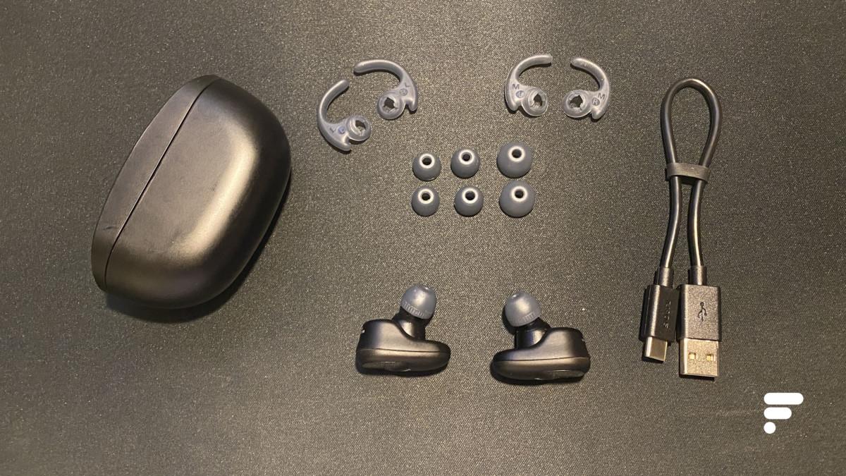 Le kit des écouteurs true wireless Sony WF-SP800N
