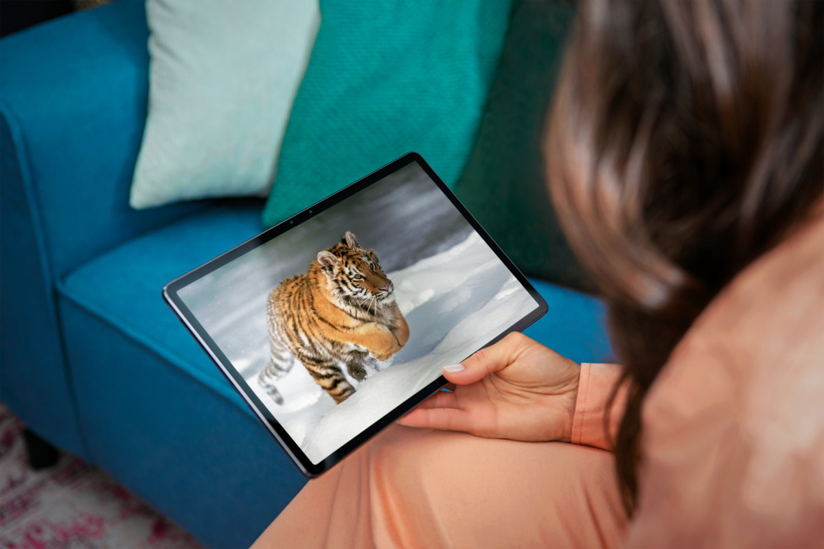 lenovo tab p11 pro lifestyle tiger 1200x800 - The Lenovo Tab P11 Pro proves that Android tablets can be alternatives to the iPad Pro