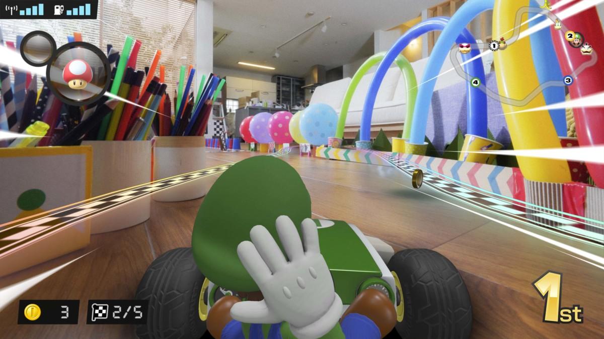 Mario Kart prend vie dans votre salon