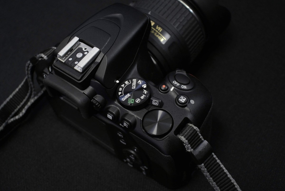 La molette des modes sur un Nikon D3500