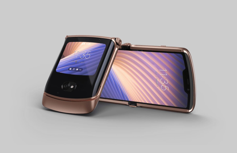 Un nouveau modèle optimisé, et compatible avec le réseau 5G — Motorola Razr