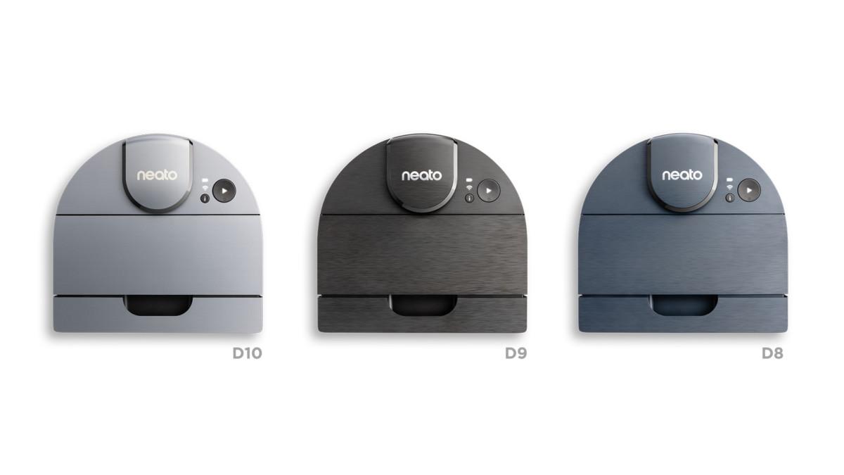 Les Neato D8, D9 et D10