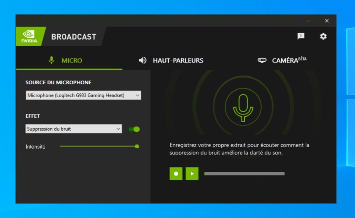 GeForce Broadcast permet d'assister les streameurs