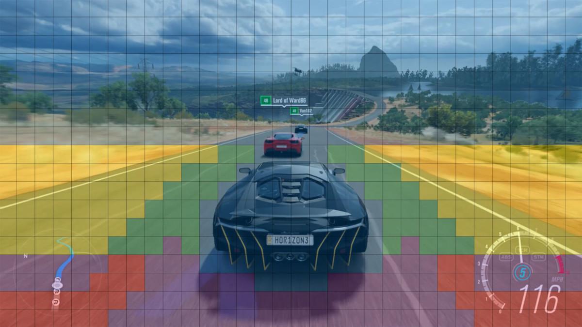 Les zones rouge ou jaune n'ont pas besoin de détails