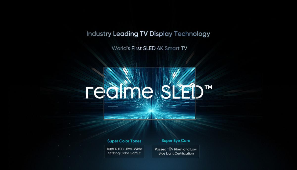 Realme présente la technologie SLED