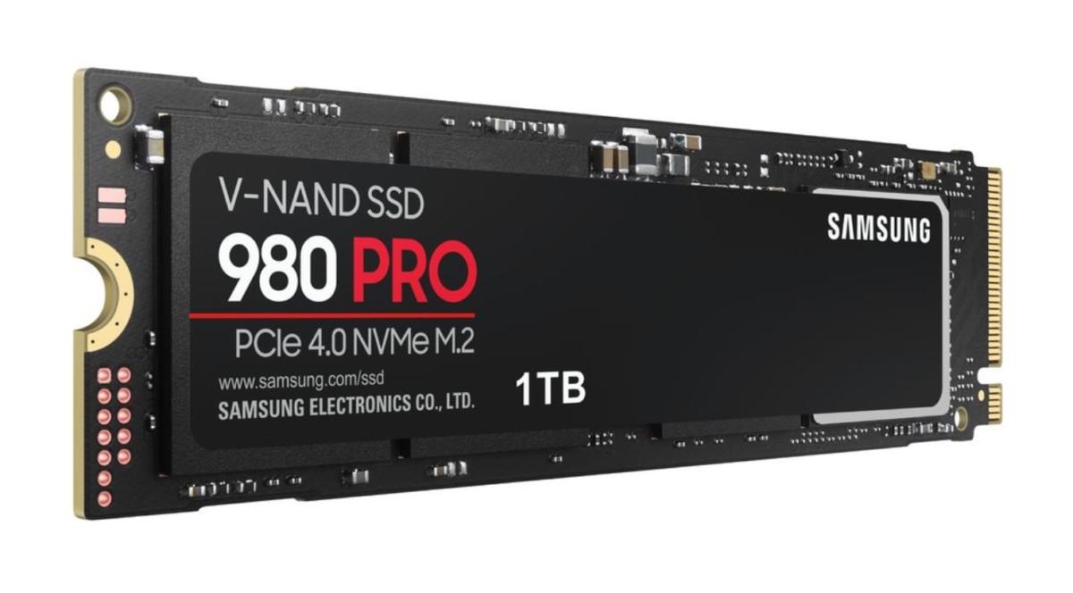 Le 980 Pro de Samsung est compatible avec le nouveau standard PCIe 4.0