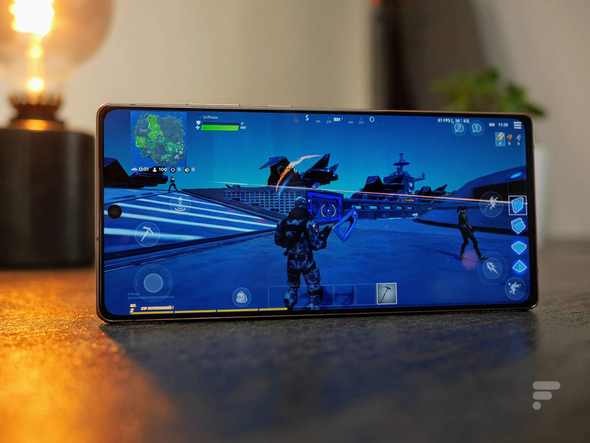 Fortnite sur le Samsung Galaxy Note 20