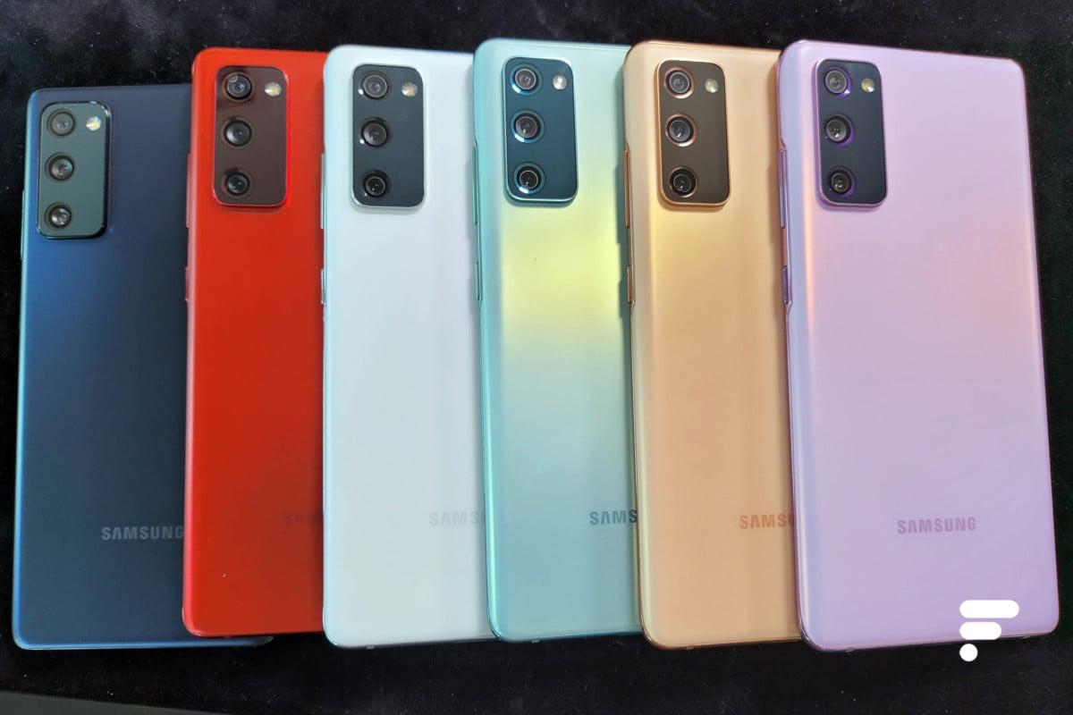 Coloris Samsung Galaxy S20 FE