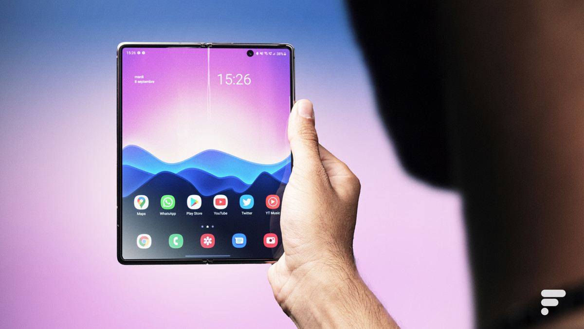 Samsung Galaxy Z Fold 2 grand écran