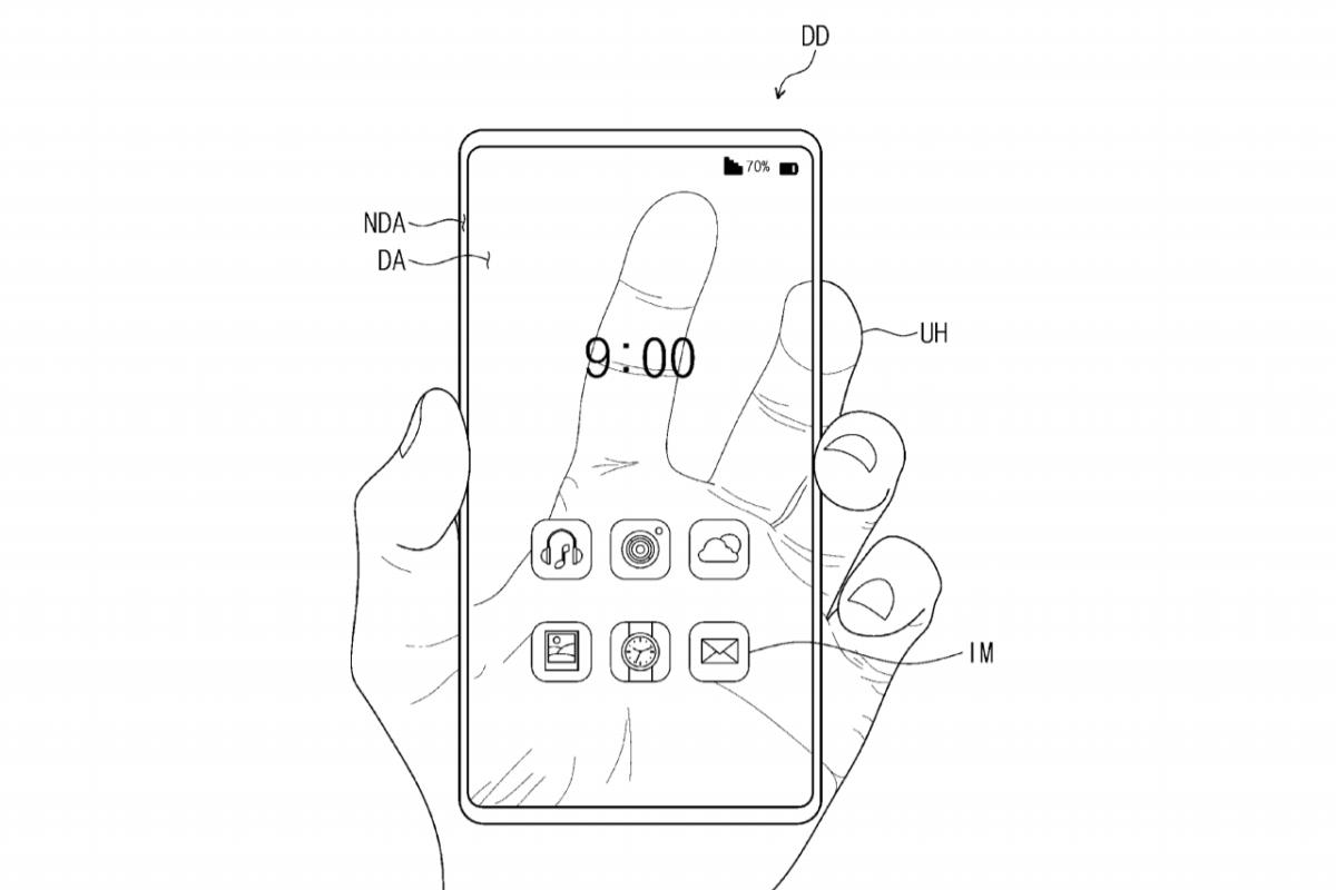 Samsung travaillerait sur un concept de smartphone transparent misant sur une nouvelle technologie d'affichage