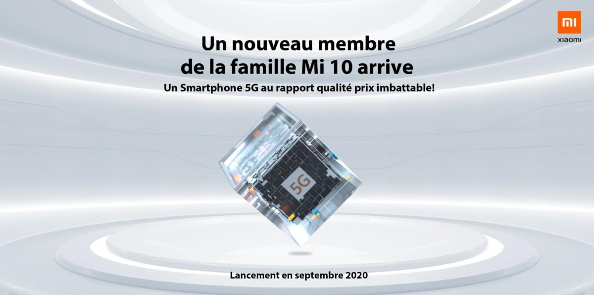 Xiaomi Mi 10 pas cher compatible 5G