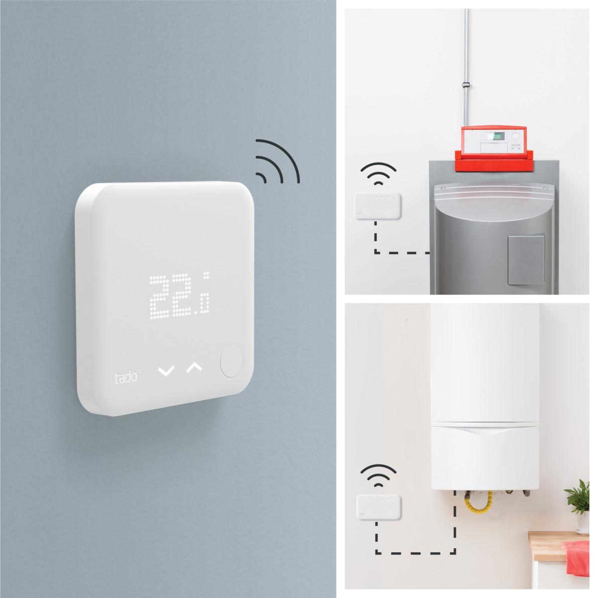 Le kit de démarrage - Thermostat intelligeng V3+ sans fil
