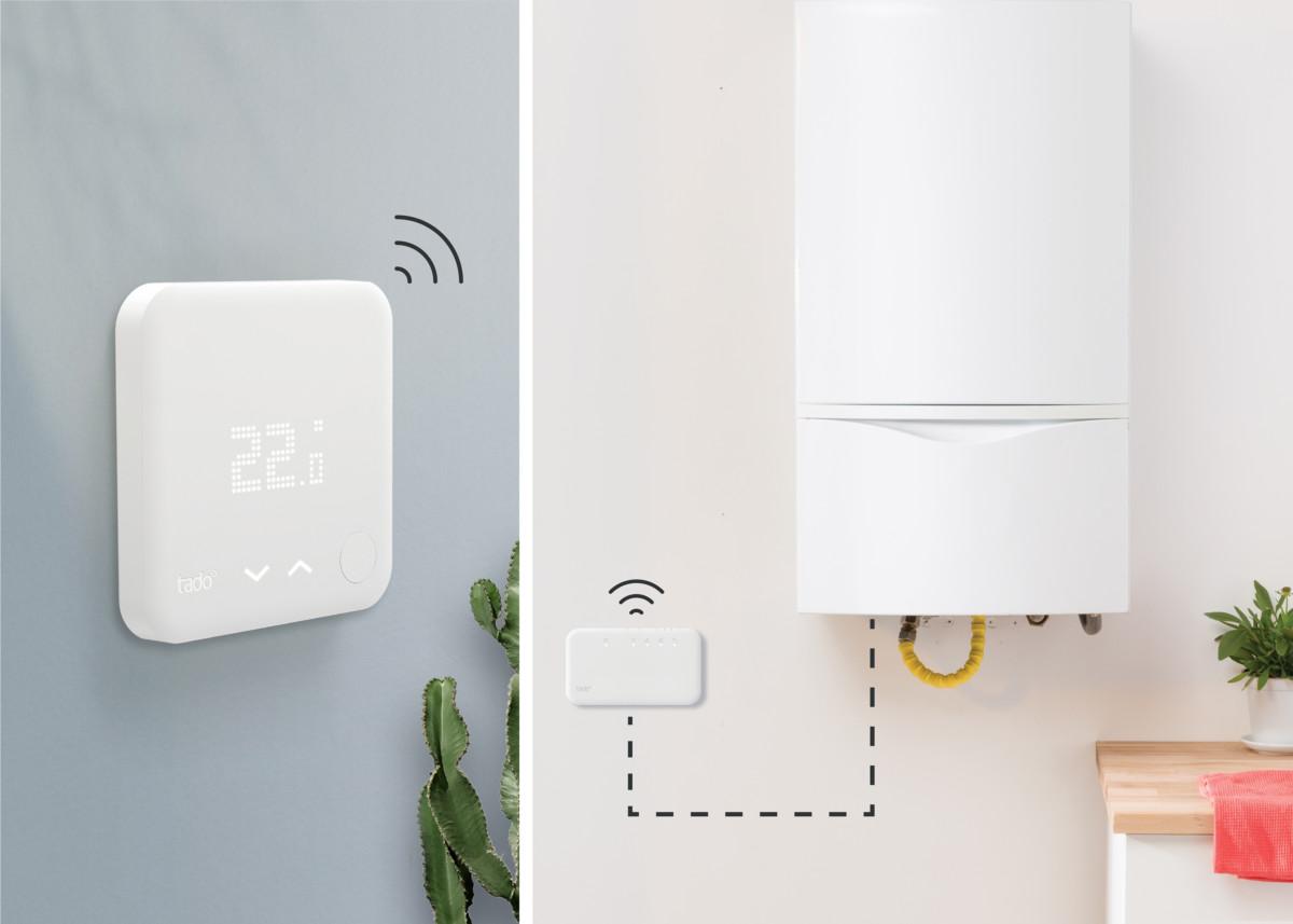 Le kit de démarrage – Thermostat intelligentV3+ sans fil