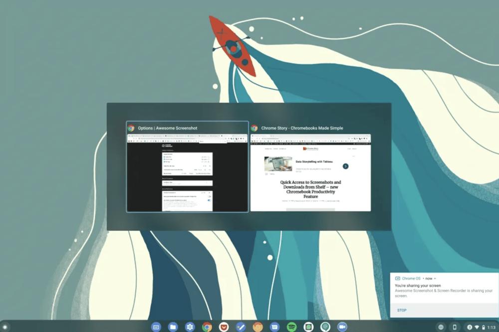 Chrome OS Exposé : bientôt plus d'interaction