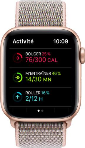 L'anneau Se lever devient Rouler sur l'Apple Watch