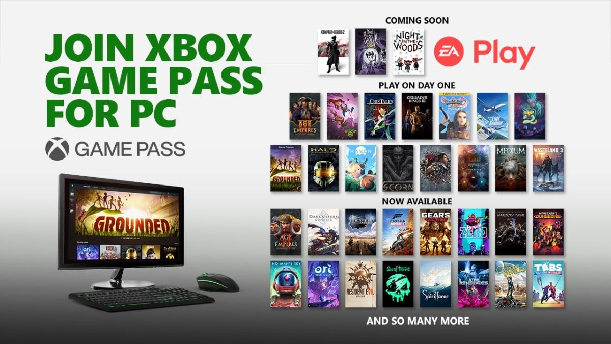 Microsoft ajoute régulièrement des jeux