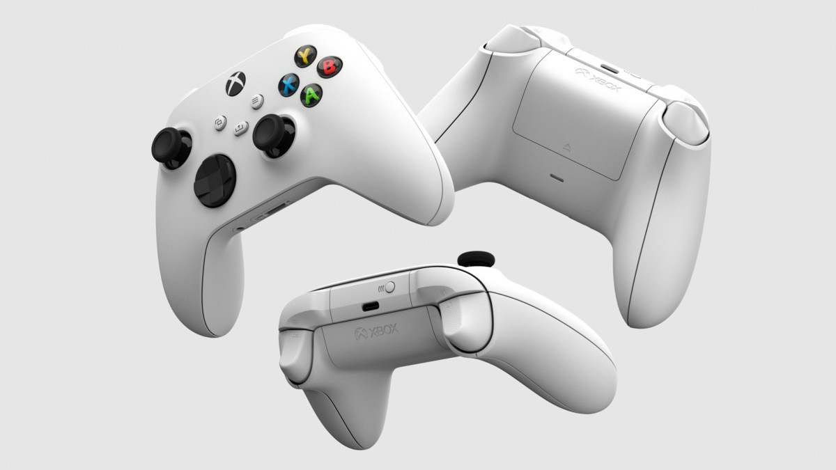 La nouvelle manette en version blanche