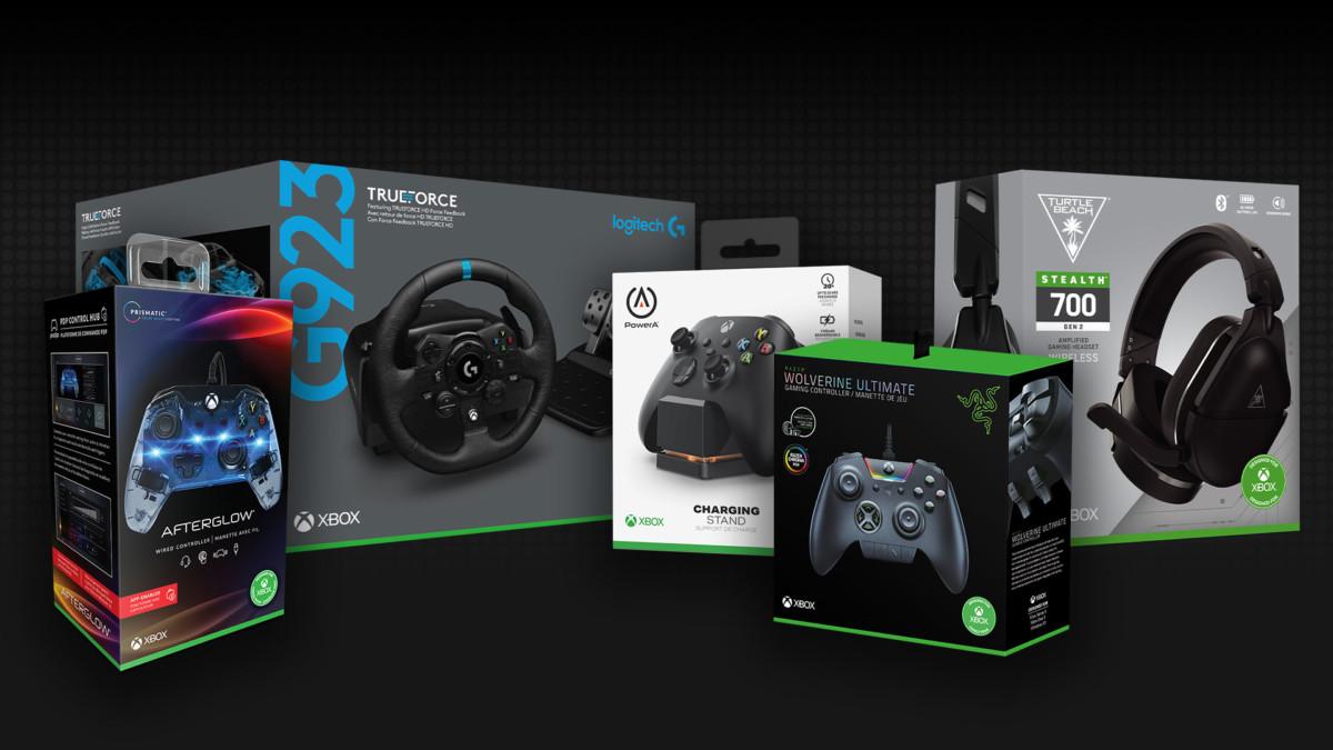Le macaron « Design for Xbox » assure la compatibilité