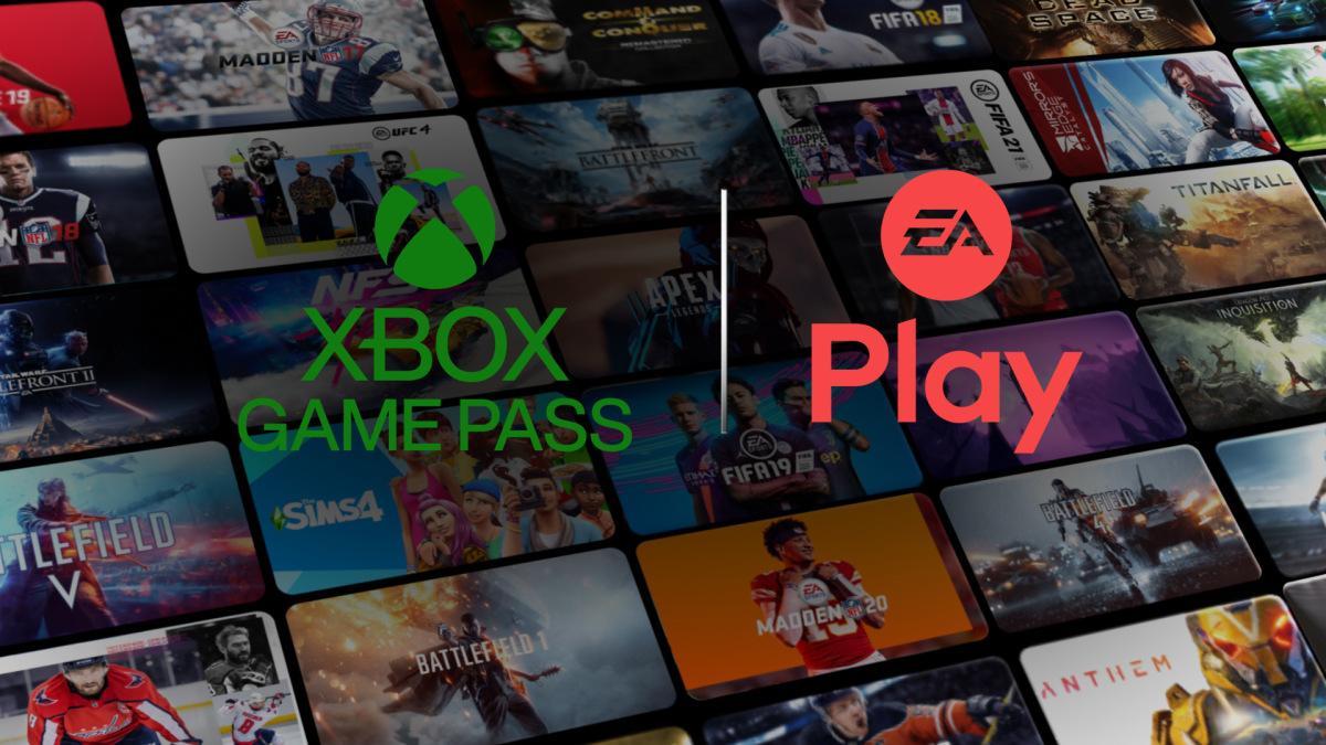 Le catalogue EA Play rejoint celui du Xbox Game Pass // source: Microsoft