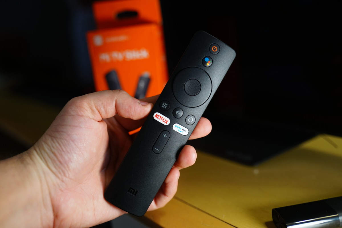 Télécommande du Mi TV Stick