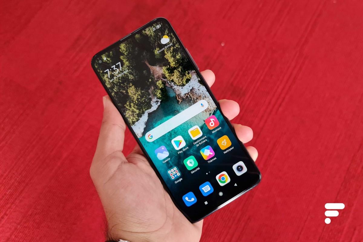 xiaomi mi 10t pro ecran 1200x800 - Xiaomi Mi 10T Pro handling: mirror, mirror, am I a beautiful smartphone? - Frandroid
