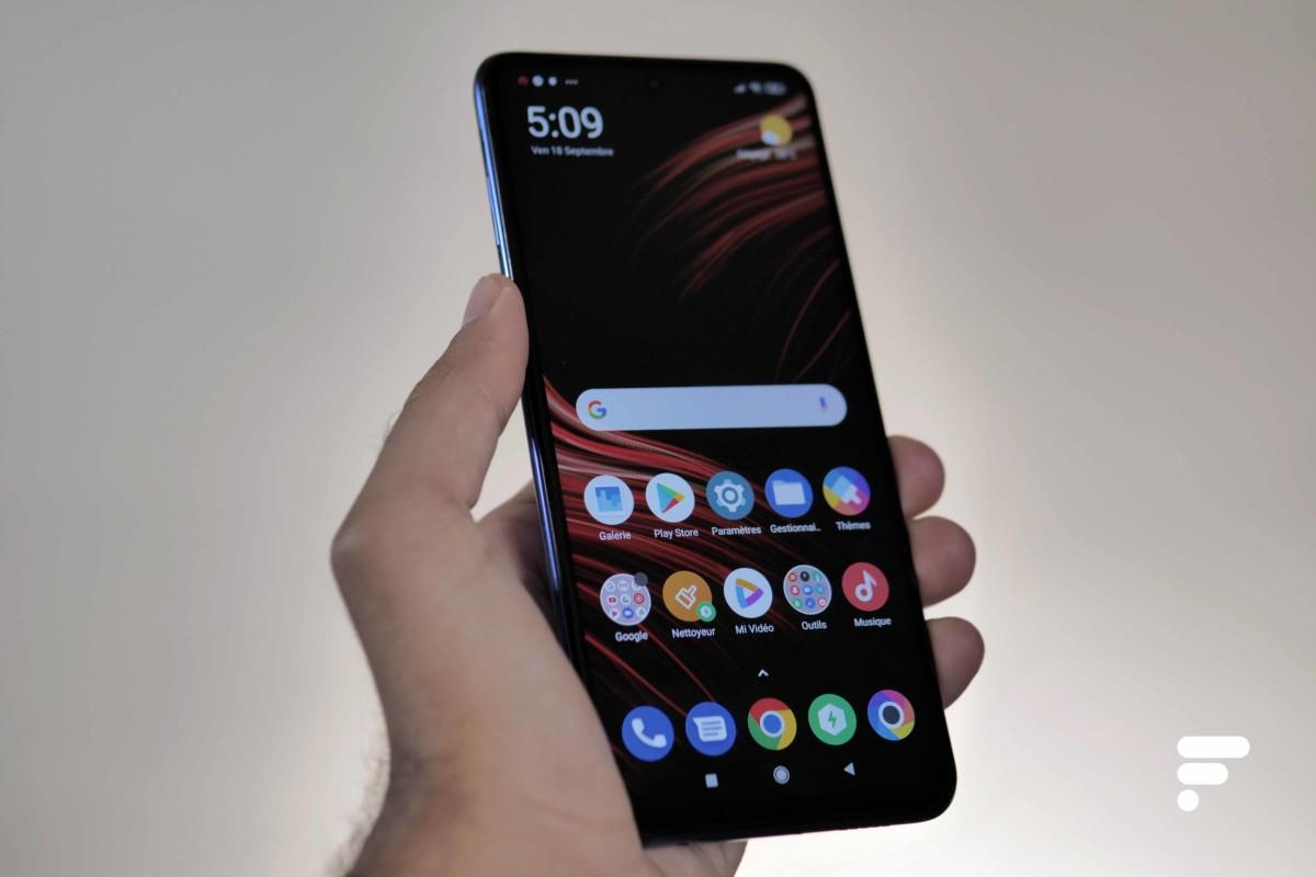 Xiaomi Poco X3 en main