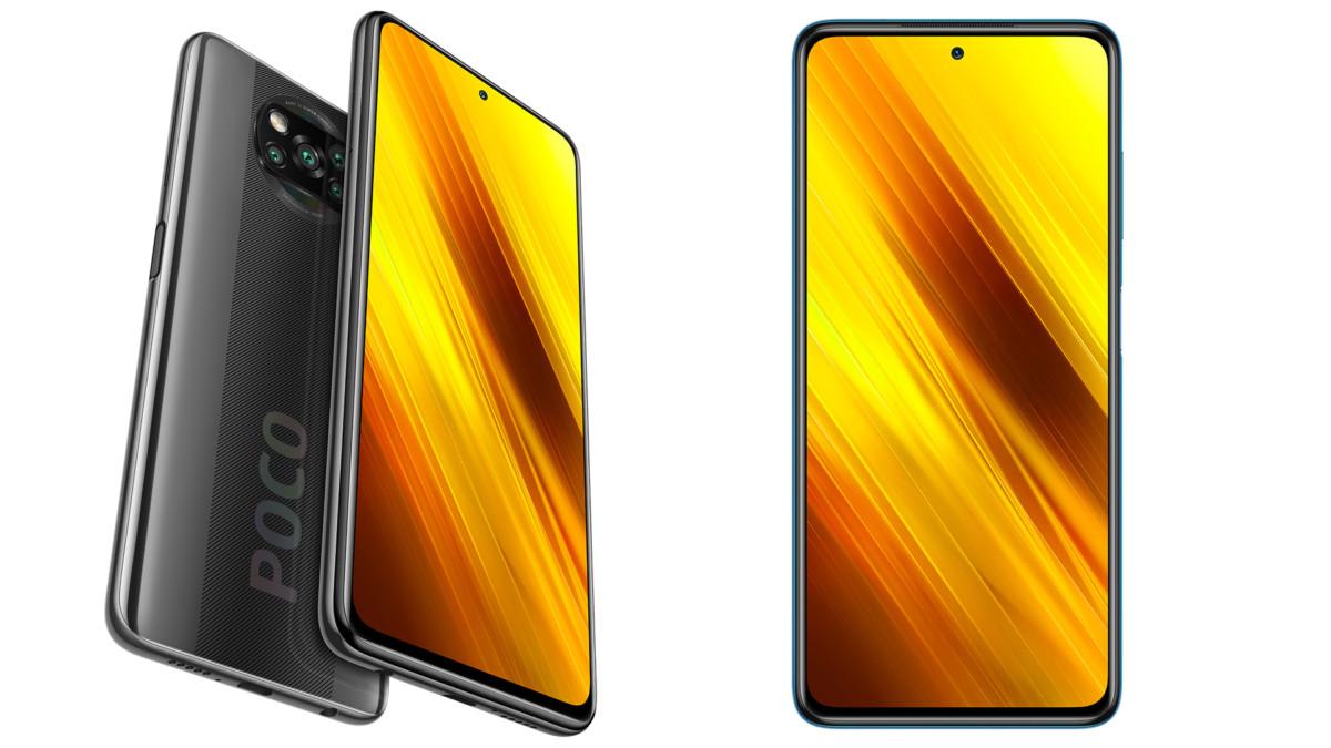 Rendu du Xiaomi Poco X3