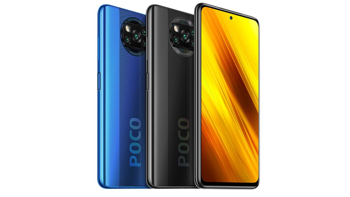 Coloris Xiaomi Poco X3