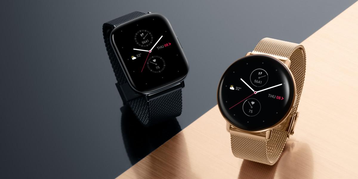 La gamme de montres connectées Zepp E Square et Circle