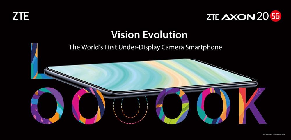 ZTE Axon 20 5G officialisation
