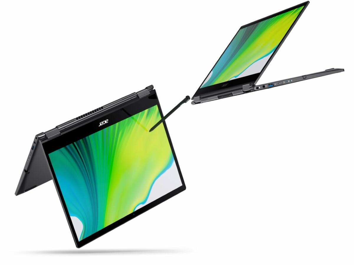 Acer Spin 5 2020 : le PC transformable avec traitement antimicrobien
