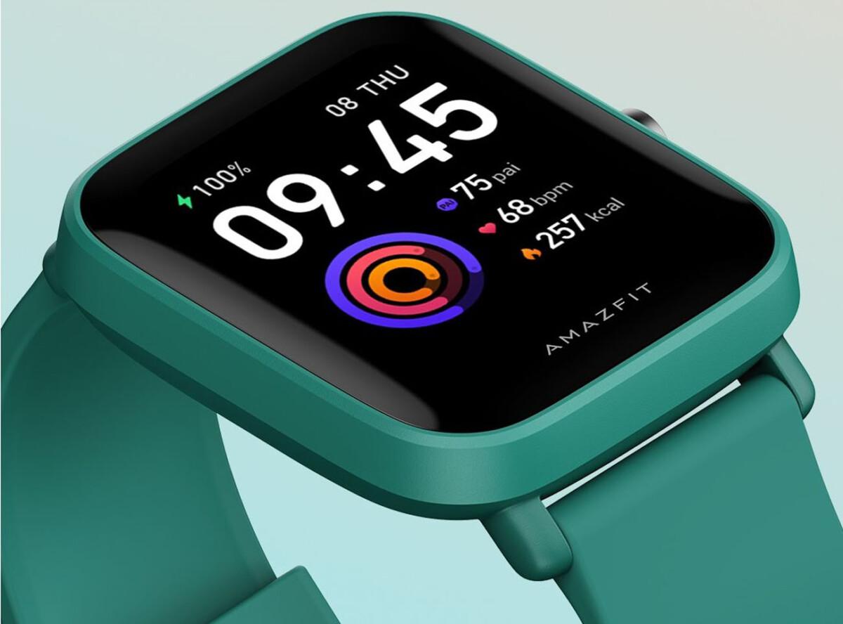 La montre Amazfit Bip U
